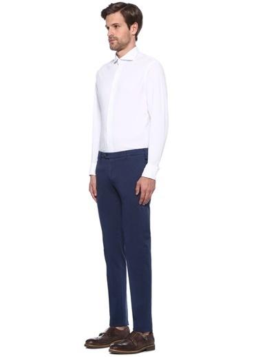 Tombolini Uzun Kollu Klasik Gömlek Beyaz